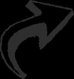 arrow-right-hand-drawn